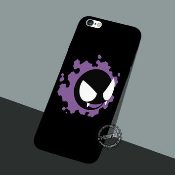 Gastly Pikachu Pokemon - iPhone 7 6 5 SE Cases & Covers