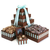 Deluxe Triple Chocolate Tower
