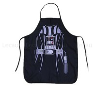 Star War Darth Vader Party stormtrooper Cosplay Apron Cooking house Yoda Costume Force Character Real Action Figure Gifts