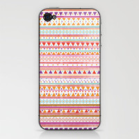 NATIVE BANDANA iPhone & iPod Skin by Nika  | Society6