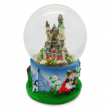 German Snow Globes Neuschwanstein Castle
