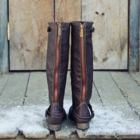 Smokestack Boots in Chestnut