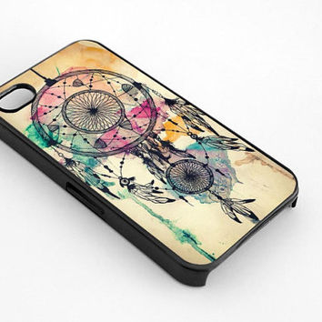 DreamCatcher Water Color for iphone 4/4s case, iphone 5/5s/5c case, samsung s3/s4 case cover