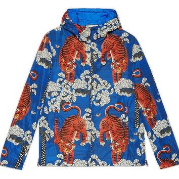 Indie Designs Bengal Print Windbreaker