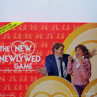 Vintage The New Newlywed Board Game 1986