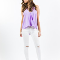 Hello Lovely Lavender Top
