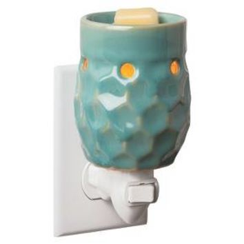 Honeycomb Plug-in Fragrance Warmer Turquoise - Candle Warmers Etc.®