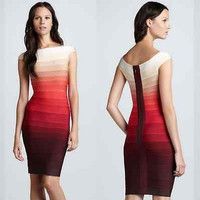 Celebrity Sexy bodycon cocktail evening party club bandage dress summer