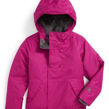 The North Face Girl's 'Harmonee' Waterproof Insulated Peacoat Jacket,