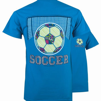 SALE Southern Couture Preppy Pattern Soccer T-Shirt