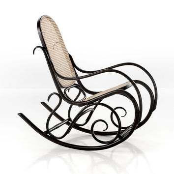 Gebruder Thonet Schaukelstuhl Rocking Chair by GTV