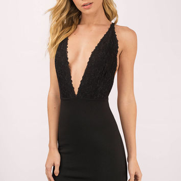 Skylar Plunging Bodycon Dress