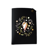 Cute Unicorn Pocket Customized Cute Leather Passport Holder - Passport Covers - Passport Wallet_SUPERTRAMPshop