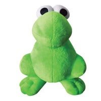 Green Nerds Plush Character