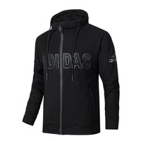 Adidas Men Long Sleeve Warm knit hooded jacket Coat