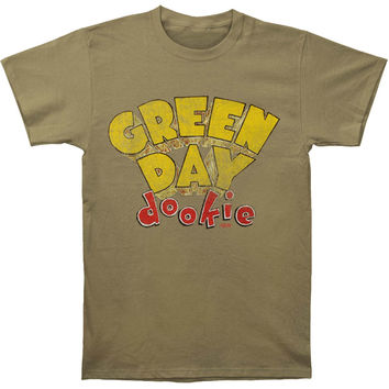 Green Day Men's  Dookie Slim Fit T-shirt Olive
