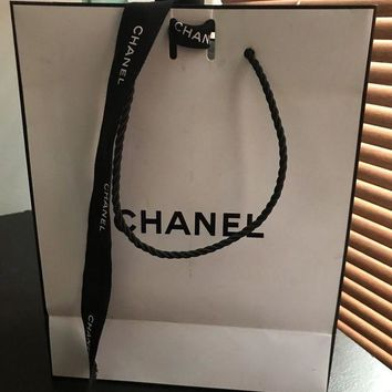 Chanel Coco Mademoiselle 100ml Empty Bottle Box&chanel Bag/ribbon/tissue Paper