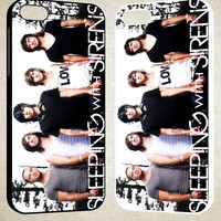 Sleeping With Sirens F0649 iPhone 4S 5S 5C 6 6Plus, iPod 4 5, LG G2 G3, Sony Z2 Case