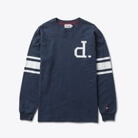 Un-Polo Football Top in Navy