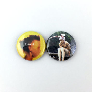 "Gummo - 1"" Button Pin Set"