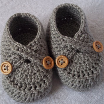 Crochet baby shoes for 36 months old baby by margarita779 on Etsy