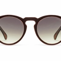 Komono The Clement Black Apricot Sunglasses