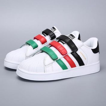 Adidas Girls Boys Children Baby Toddler Kids Child Fashion Casual Sneakers Sport Shoes