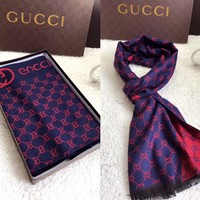 One-nice™ Perfect Gucci Women Silk Scarf Shawl Silk Scarf