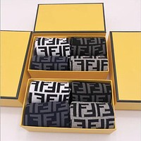 """FENDI"" New Popular Women Men Full F Letter Comfortable Cotton Sport Socks - Boxed"