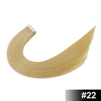 Remy Tape In Human Hair Extension