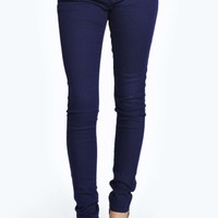 Evie Low Rise Superskinny Navy Jeans