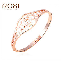 ROXI -Fashion Crystal bracelet. Bangle AAA zircon,Summer/Birthday gift. Environmental Micro-Inserted Rope Jewelry