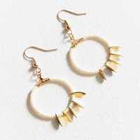 Fiona Paxton Faith Beaded Hoop Earring | Urban Outfitters