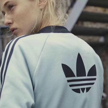ADIDAS Women Fashion Sport Cardigan Jacket Coat
