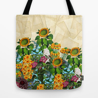 Golden Afternoon Tote Bag by Glanoramay