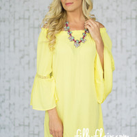 Pure Sweetness Dress in Yellow