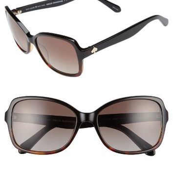 kate spade new york ayleen 56mm polarized sunglasses | Nordstrom
