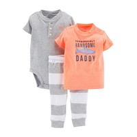 Carter's 3-pc. ''Handsome Like Daddy'' Bodysuit Set - Baby Boy, Size: