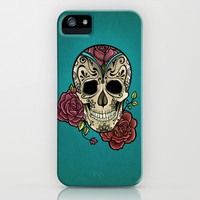 Mexican Skull iPhone & iPod Case by NathalyBonilla