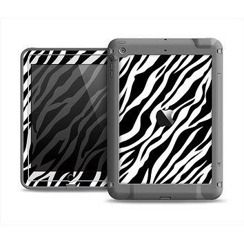 The Simple Vector Zebra Animal Print Apple iPad Air LifeProof Fre Case Skin Set