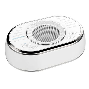 HoMedics Sound Spa with 12 Sounds (White)