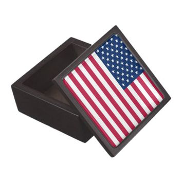 USA Flag Premium Gift Box