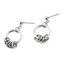 Ring of Fire Earring