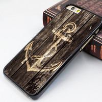 anchor iphone 6 case,art wood anchor iphone 6 plus case,old wood pattern iphone 5s case,wood anchor image iphone 5c case,old wood anchor iphone 5 case,idea iphone 4s case,iphone 4 case