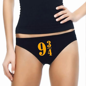 Harry Potter Panties- Custom Underwear Panties Thongs Undies Lingerie