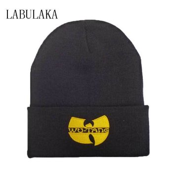WU TANG Hat Unisex Mask Fashion Winter WU TANG CLAN Beanie Hats For Women Men Acrylic Black Knitted Caps Ski Crochet Gorros Toca