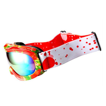 Ski Glasses Myopia Googles Child XH-118    strawberry+orange