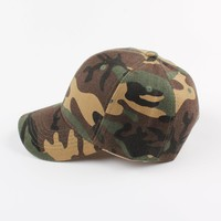 2017 Mens Army Camo Cap Baseball Casquette Camouflage Hats For Men Camouflage Cap Women Snapback Camo Hat Chapeu Dad Hat