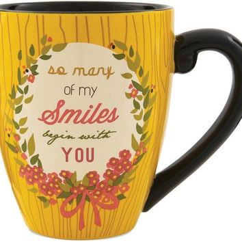 So many of my Smiles begin with you Mug