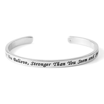 """Motivational Bracelet 
